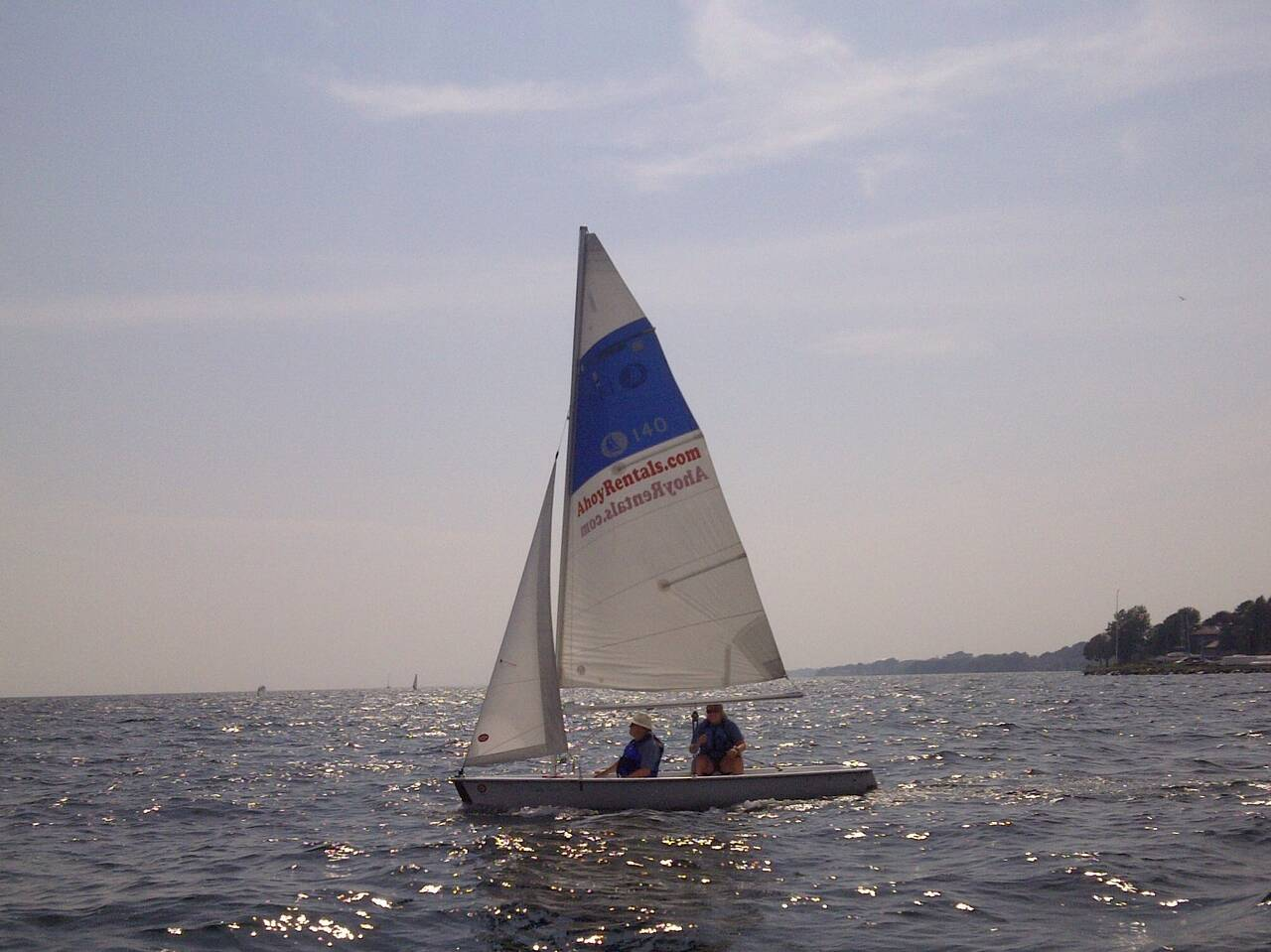Sailing Instruction on a Hunter 140